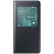Samsung Galaxy Alpha S View Cover - Black