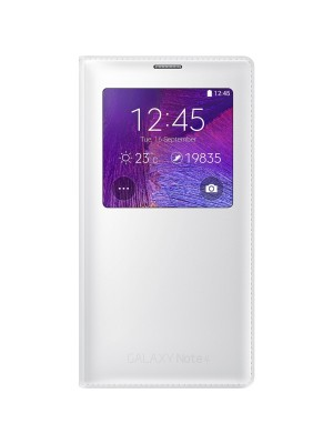Samsung Galaxy Note 4 S-View Cover EF-CN910FTEGWW - White