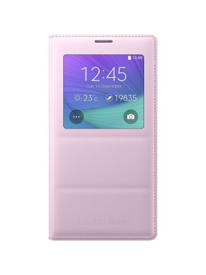 Samsung Galaxy Note 4 S-View Cover EF-CN910BP - Pink