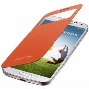 Samsung S View Cover Galaxy S4 EF-CI950BO - Orange