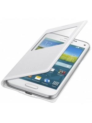 Samsung Galaxy S5 MINI S View Cover - white