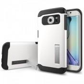 Spigen Slim Armor Samsung Galaxy S6 edge Case - SGP11424 - Shimmery White
