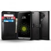 Spigen Wallet S LG G5 Case - Zwart