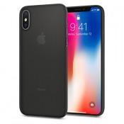 Spigen iPhone X Case Air Skin - Zwart