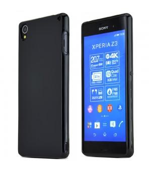 PM - Silicone Case Sony Xperia Z3 - Zwart