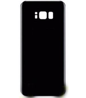 PM Samsung Galaxy S8 Plus Silicone Case Zwart