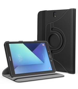 PM Rotating Stand & Case Galaxy Tab S3 T820 / T825 Zwart